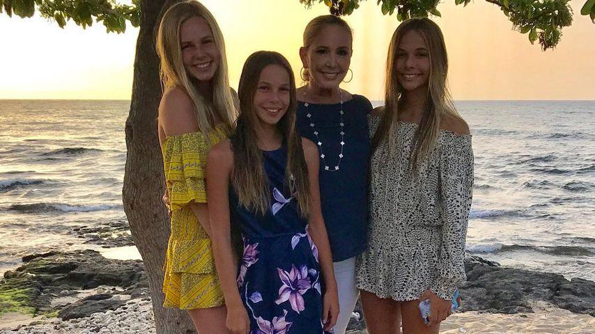 Shannon Beador mit ihren Töchtern Adeline, Stella und Sophie