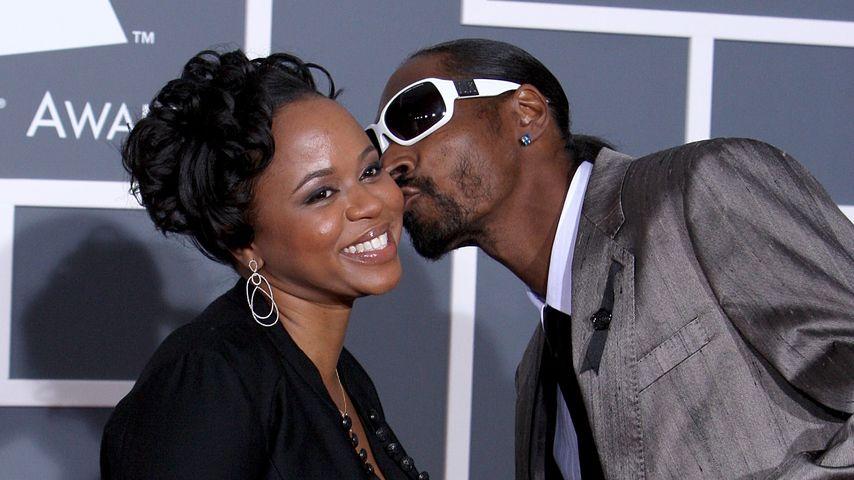 Shante Taylor mit Ehemann Snoop Dogg bei den Grammy Awards 2009