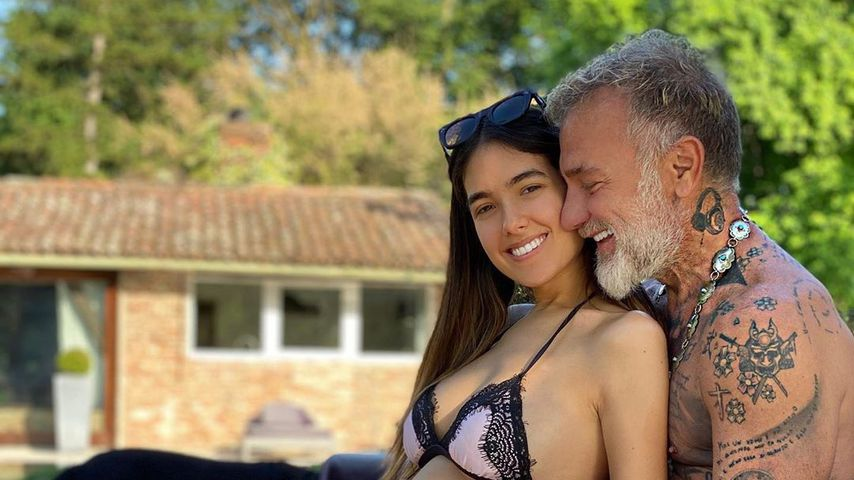 Sharon Fonseca und Gianluca Vacchi im Mai 2020