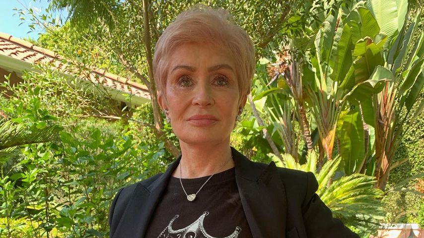 Kilo-Kampf durch Lockdown: Sharon Osbourne hat zugenommen