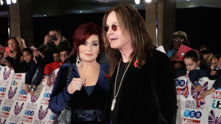 Sharon Osbourne und Ozzy Osbourne bei den Pride of Britain Awards in London im Oktober 2017