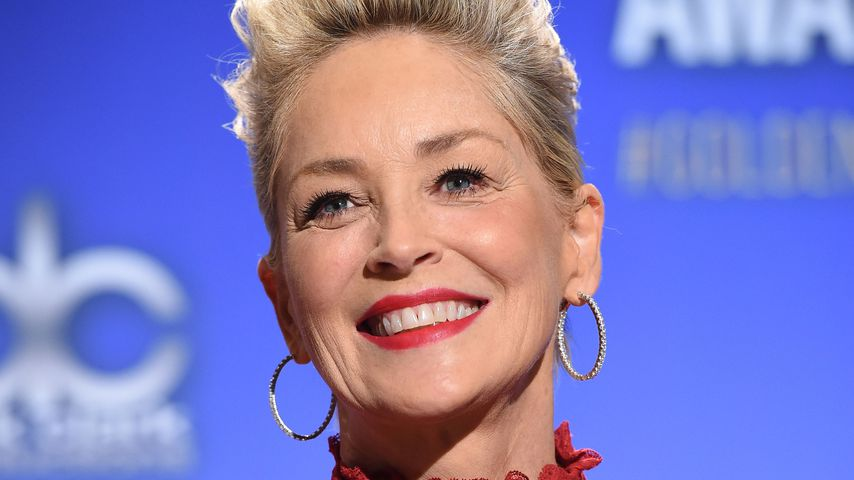 Sharon Stone bei der Verkündung der Nominierten der 75. Golden Globes