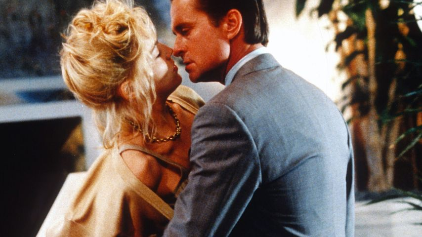 "Sharon Stone und Michael Douglas in ""Basic Instinct"""