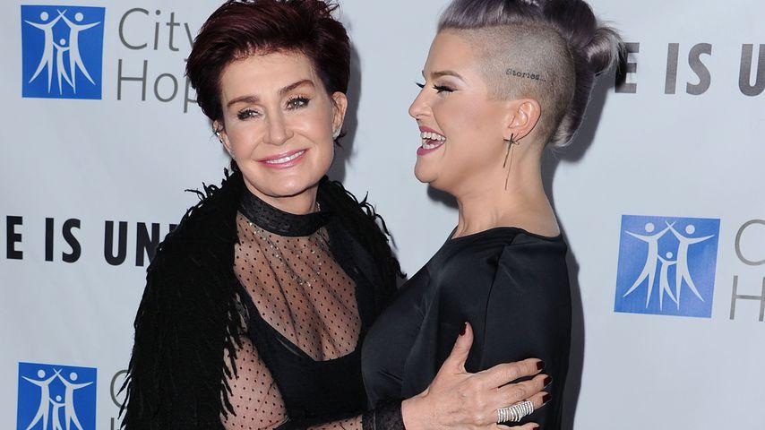 Sharon und Kelly Osbourne in Santa Monica