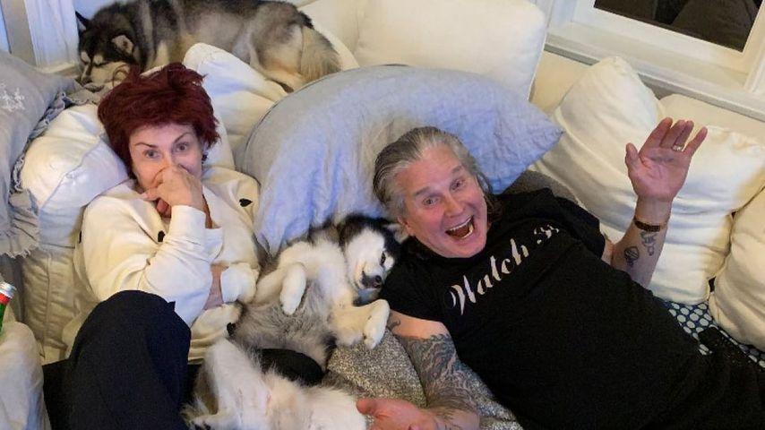 Sharon und Ozzy Osbourne im November 2020