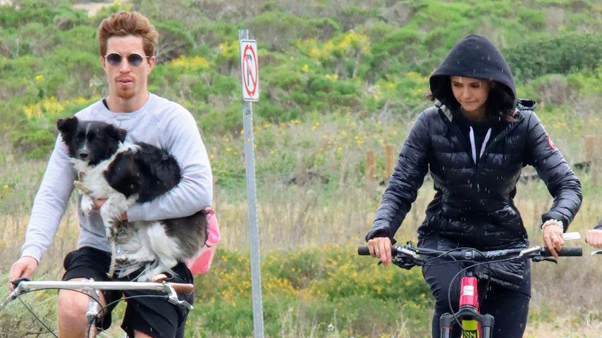 Shaun White und Nina Dobrev in Malibu im März 2020