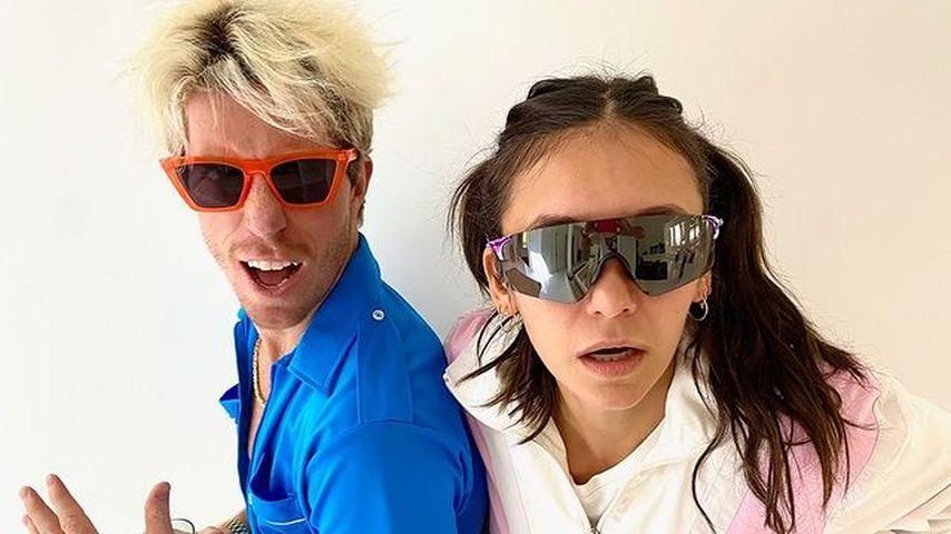 Shaun White und Nina Dobrev, Snowboarder und Schauspielerin
