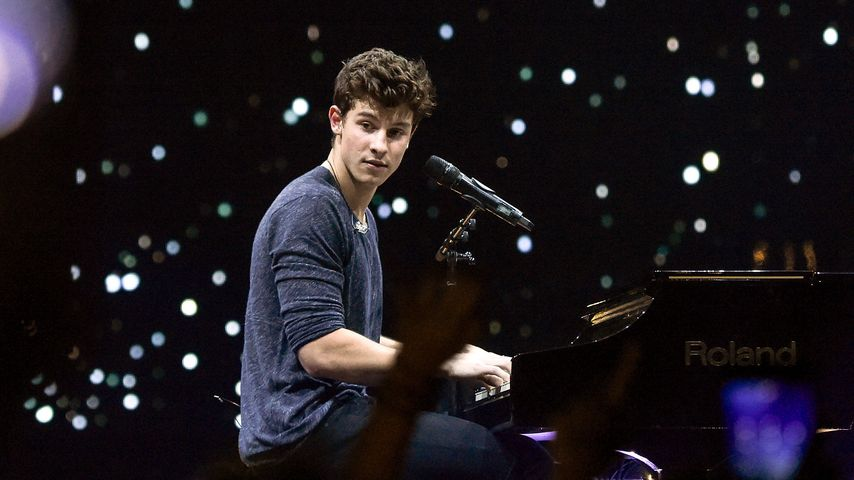Shawn Mendes bei einem Konzert in New York