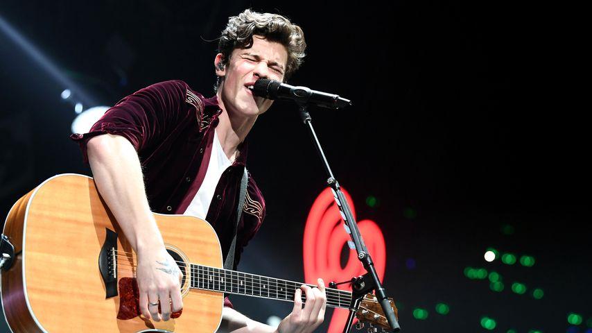 Shawn Mendes auf der Bühne, 2018