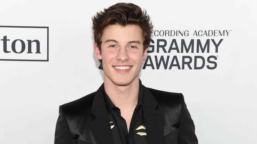 Shawn Mendes bei einer Pre-Grammy Gala in New York