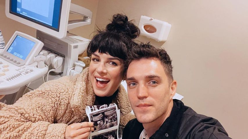 Shenae Grimes und ihr Mann Josh Beech im März 2021