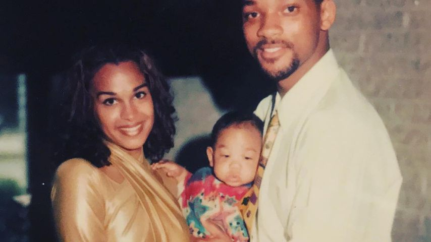 Sheree Zampino und Will Smith mit ihrem Sohn Trey