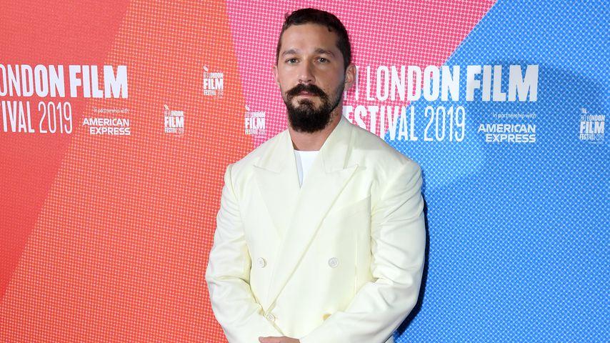 """Shia LaBeouf bei der Europa-Filmpremiere zu """"Honey Boy"""" Ende 2019"""