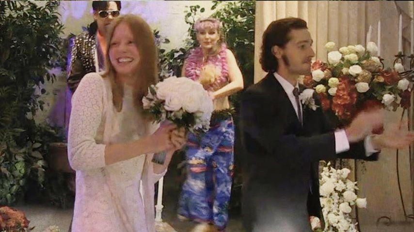 Shia LaBeouf: Hochzeits-Live-Stream war KEINE Kunst-Aktion