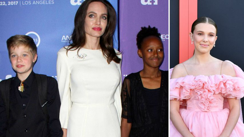 """Stranger Things""-Party: Millie feierte mit Jolie-Pitt-Kids"