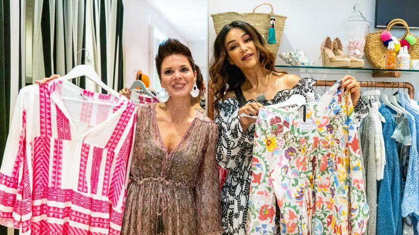 """""""Shopping Queen""""-Kandidatin Manuela und Verona Pooth"""