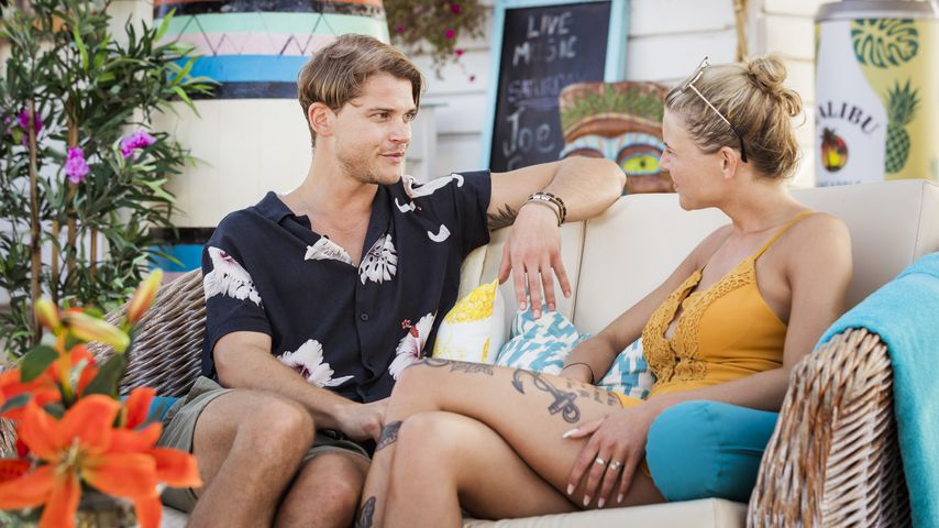 """Sidney und Vivien bei einem """"Love Island""""-Date"""