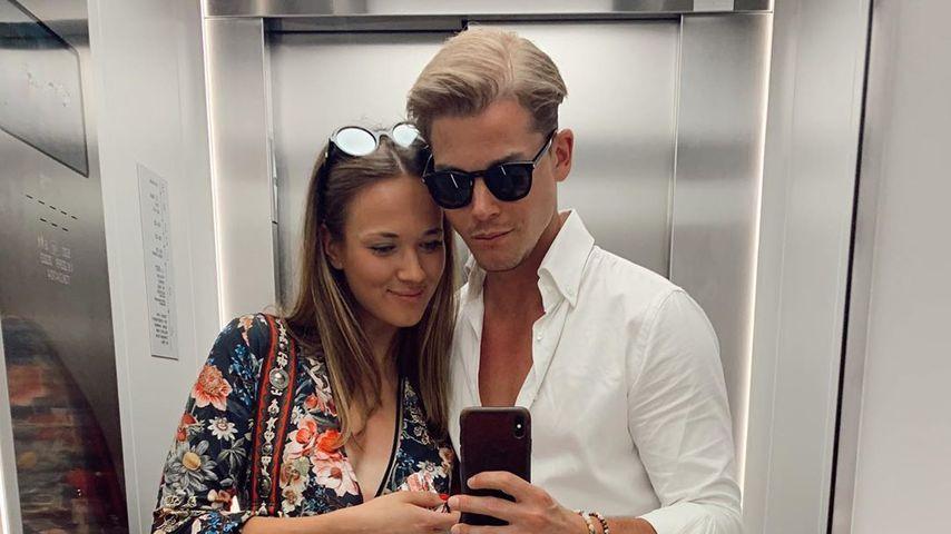 Sidney Wolf mit seiner Freundin