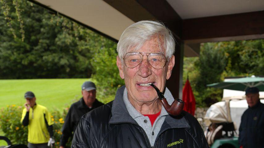 Siegfried Rauch beim Tabaluga Golf Cup 2014