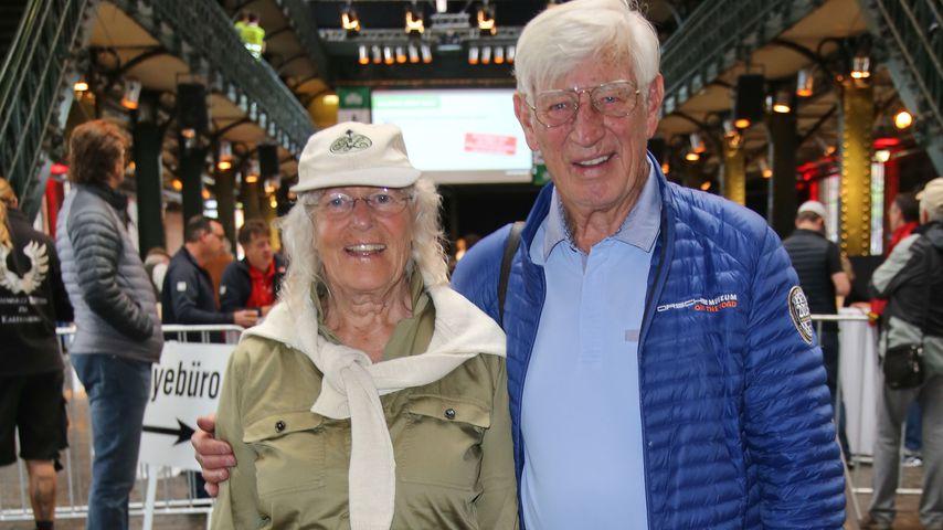 Siegfried Rauch (rechts) und seine Frau Karin in Hamburg 2017