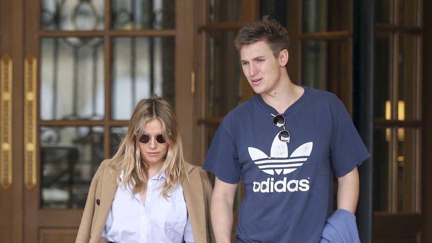 Sienna Miller und ihr Freund Lucas Zwirner