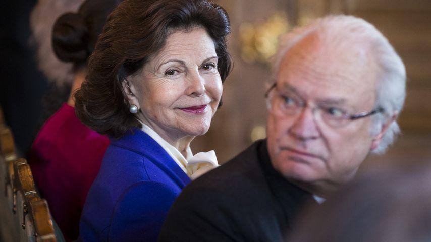 Königin Silvia von Schweden erhält Preis für Engagement