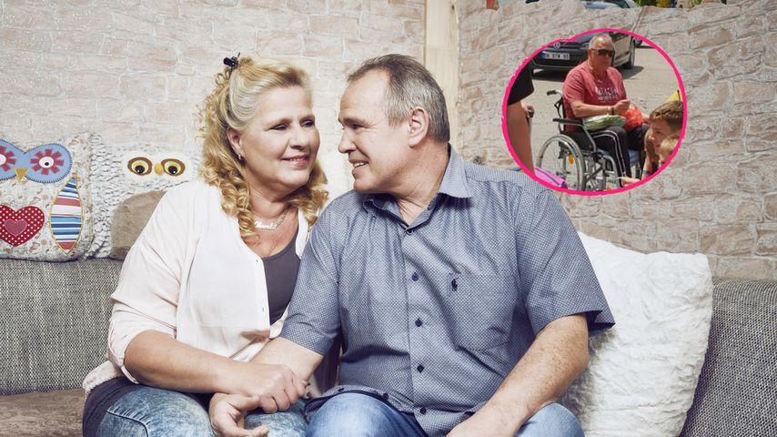 Erneute Sorge um Harald: Silvias Partner sitzt im Rollstuhl!