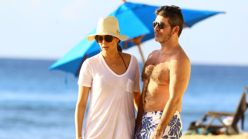 Weihnachts-Stress adé: Simon Cowell urlaubt mit Frau & Kind