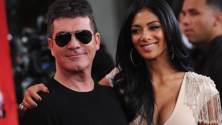 """Simon Cowell und Nicole Scherzinger bei der """"X Factor""""-Pressekonferenz in Los Angeles"""