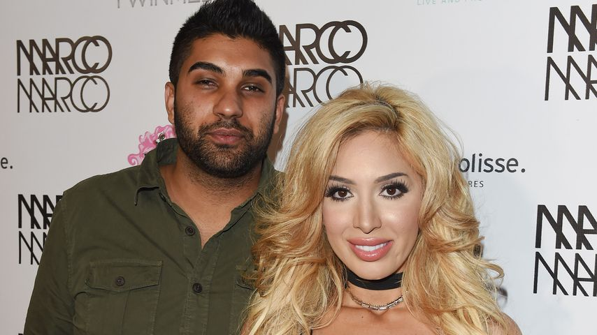 "Simon Saran und Farrah Abraham beim ""Marco Marco A Night In The Red Light Event"" in LA"