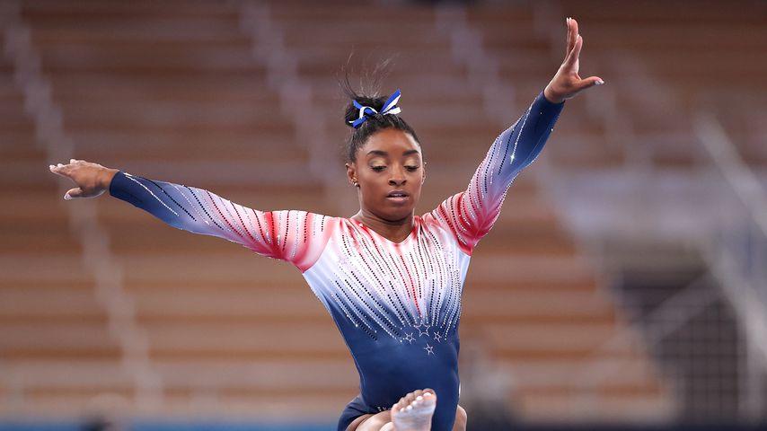 Simone Biles bei den Olympischen Sommerspielen, Juli 2021