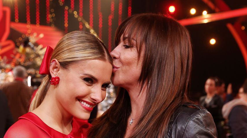 "Sophia und Mutter Simone Thomalla bei ""Let's Dance - Let's Christmas"""