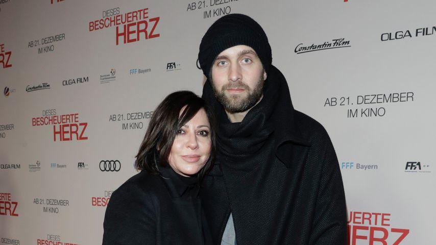 Simone Thomalla und Silvio Heinevetter im Dezember 2017