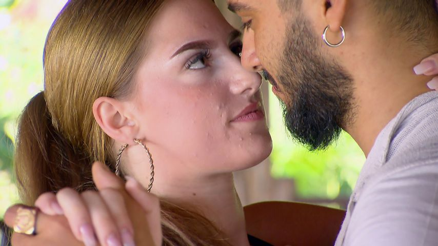"Single-Frau Coco und Davide Tolone bei ""Temptation Island"""