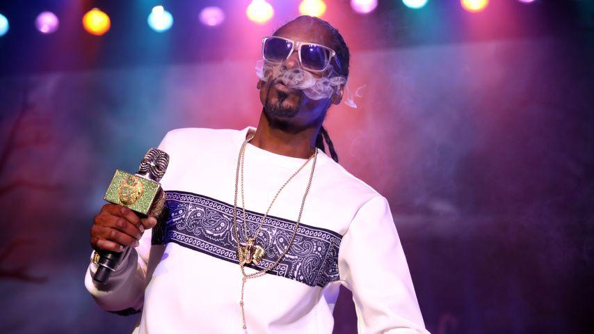Snoop Dogg bei einer Show in Los Angeles
