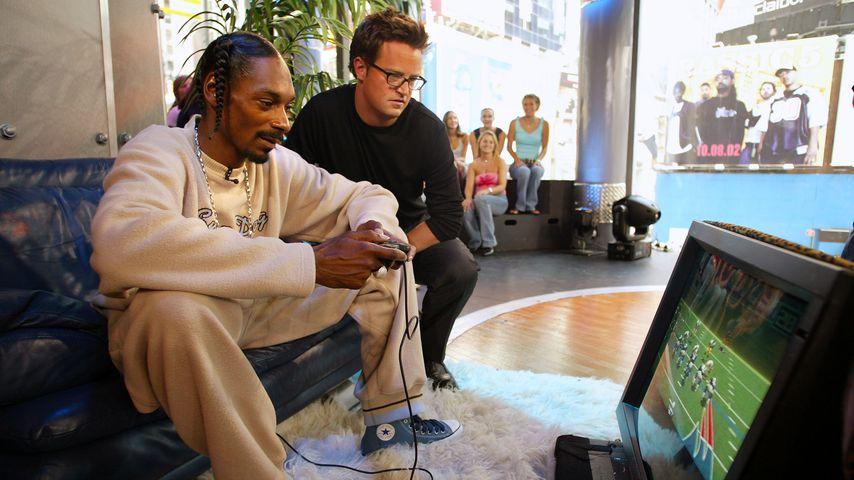 Snoop Dogg und Matthew Perry, 2002