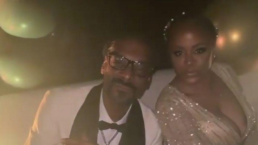 Snoop Dogg und seine Frau Shante im Juni 2021