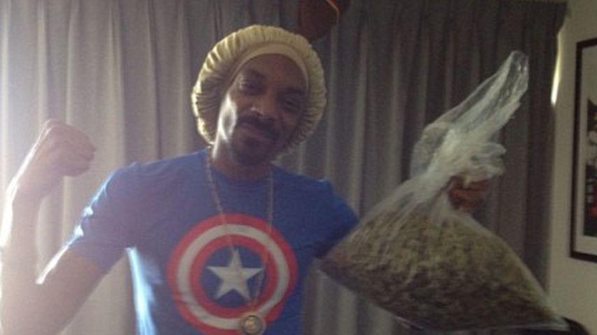 High-ter: Snoop Dogg gewinnt einen Sack voll Weed