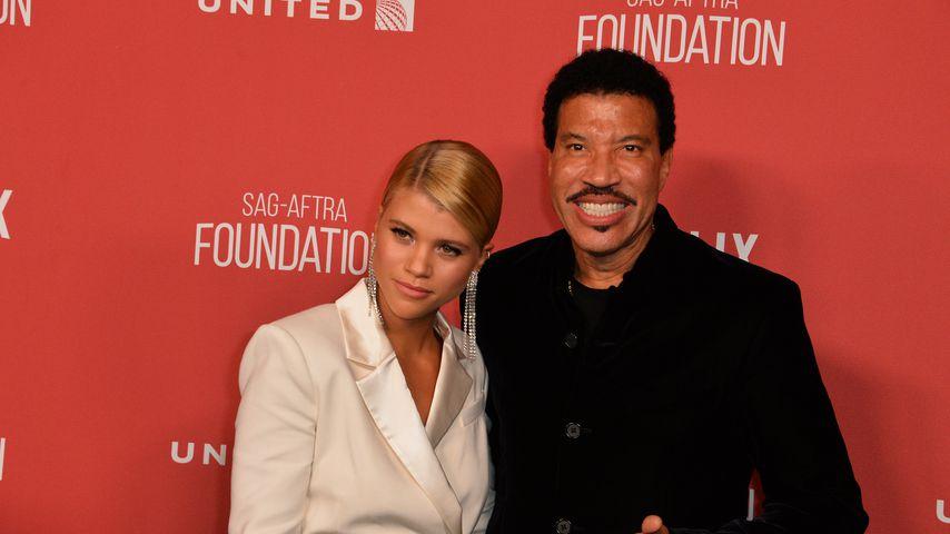Sofia und Lionel Richie bei den Patron-of-the-Artists-Awards, 2017