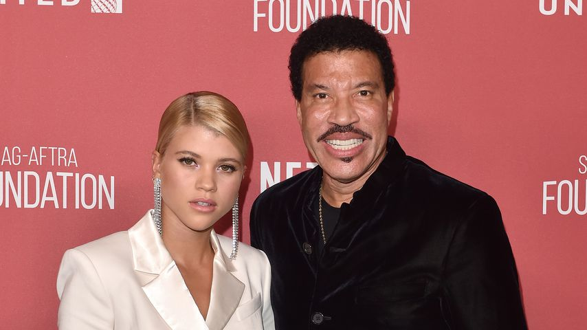 Sofia und Lionel Richie bei den SAG-AFTRA Foundation Patron of the Artists Awards 2017