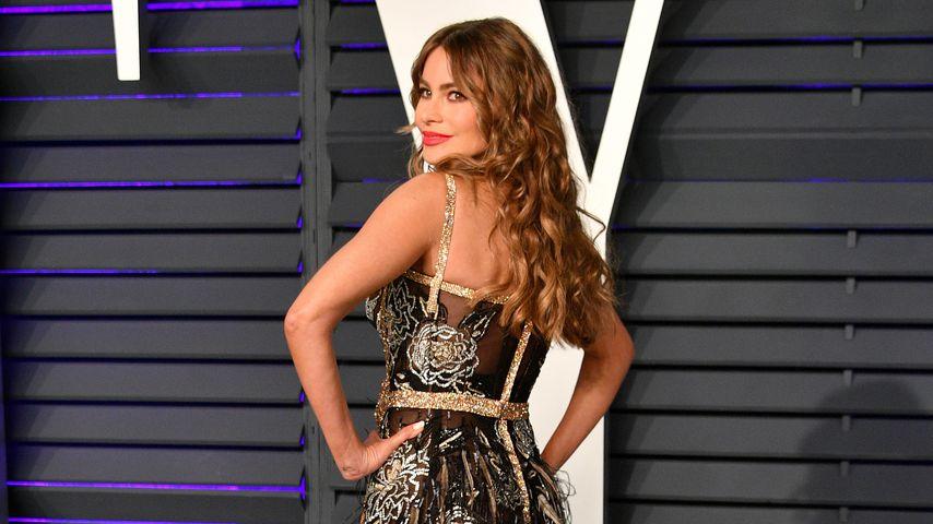 Sofia Vergara auf einer Oscar-Party im Februar 2019