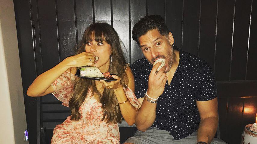 Sofia Vergara mit Joe Manganiello bei ihrer Geburtstagsparty