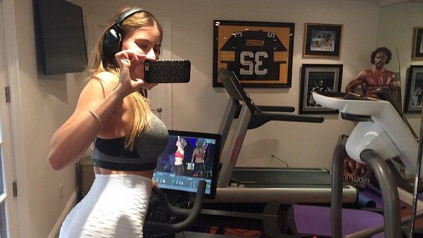 Sexy Motivation: Sofia Vergara schmachtet Joe beim Sport an