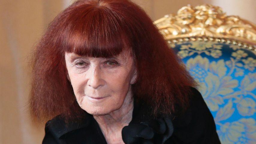 Die französische Modedesignerin Sonia Rykiel
