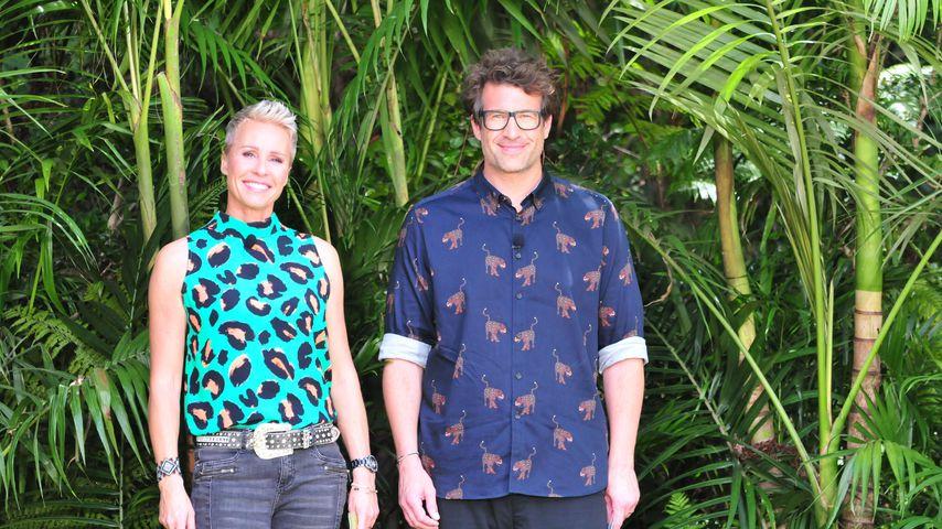 Sonja Zietlow und Daniel Hartwich im Dschungelcamp 2019