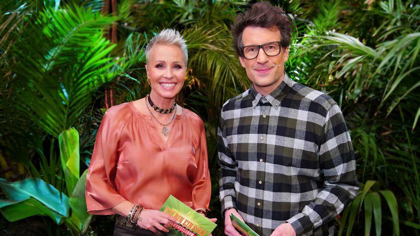 """Sonja Zietlow und Daniel Hartwich bei """"Ich bin ein Star – Die große Dschungelshow"""""""