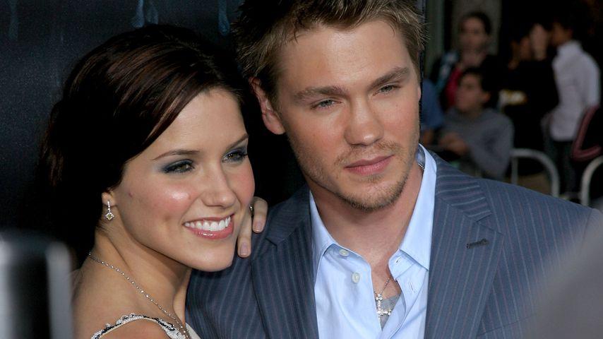 Sophia Bush und Chad Michael Murray nach ihrer Hochzeit im April 2005