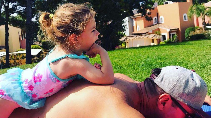 Sophia Cordalis und ihr Papa Lucas Cordalis