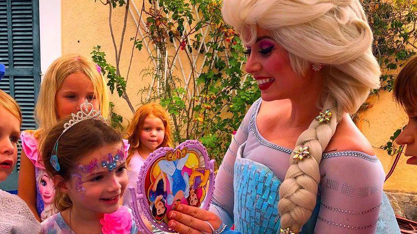 Sophia Cordalis mit Prinzessin Elsa