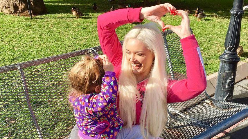 Wie die Katze so die Tochter: Danielas Sophia liebt Pink!